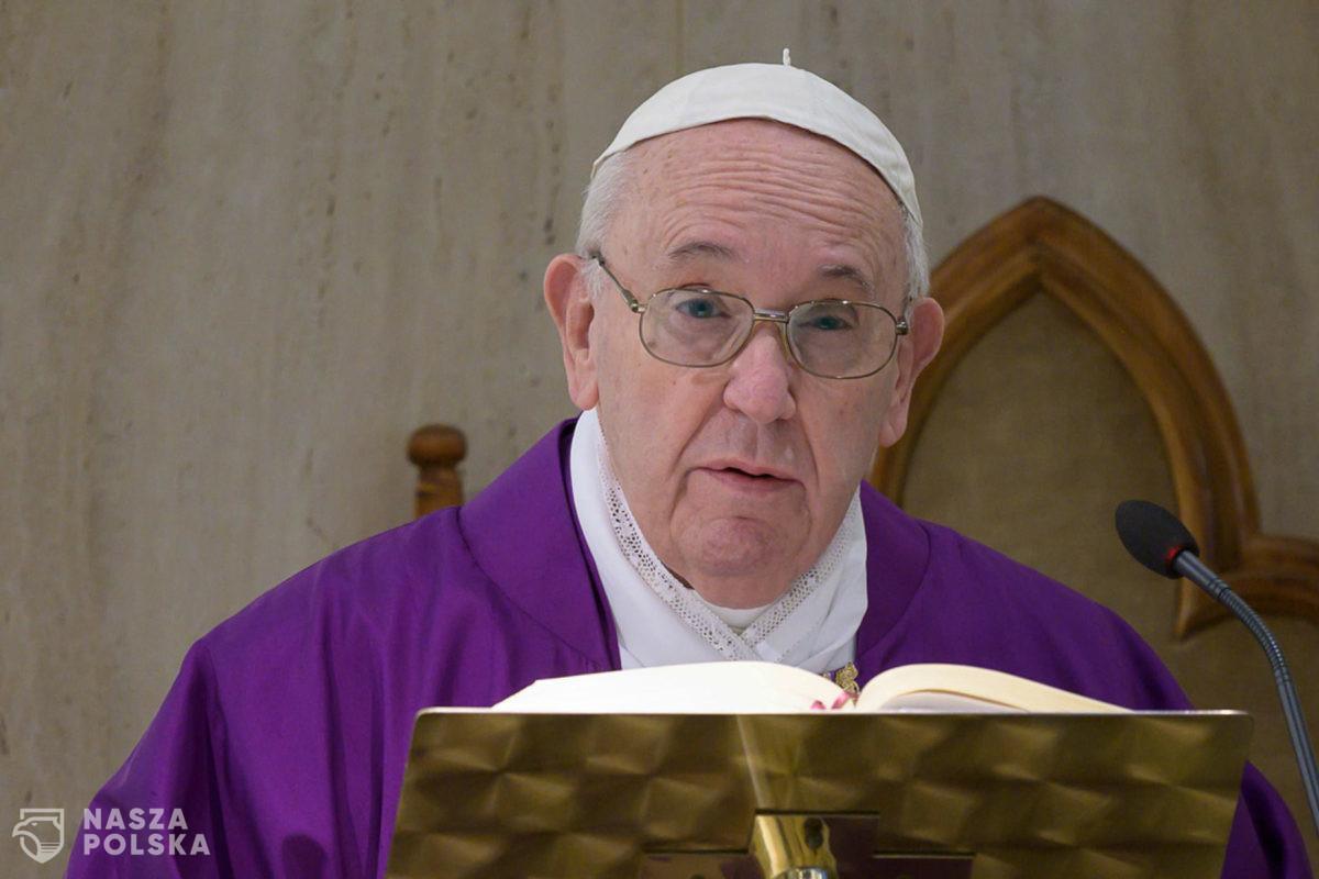 Papież Franciszek: Osoby homoseksualne mają prawo do rodziny