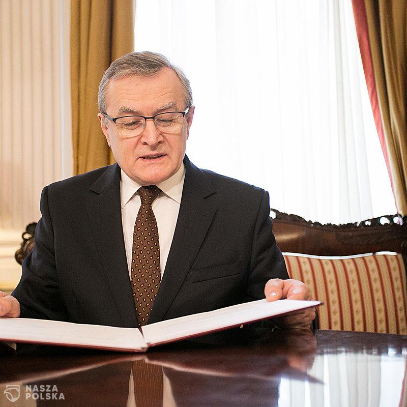 Gliński: we wrześniu 2022 r. oddanie gmachu Muzeum Historii Polski