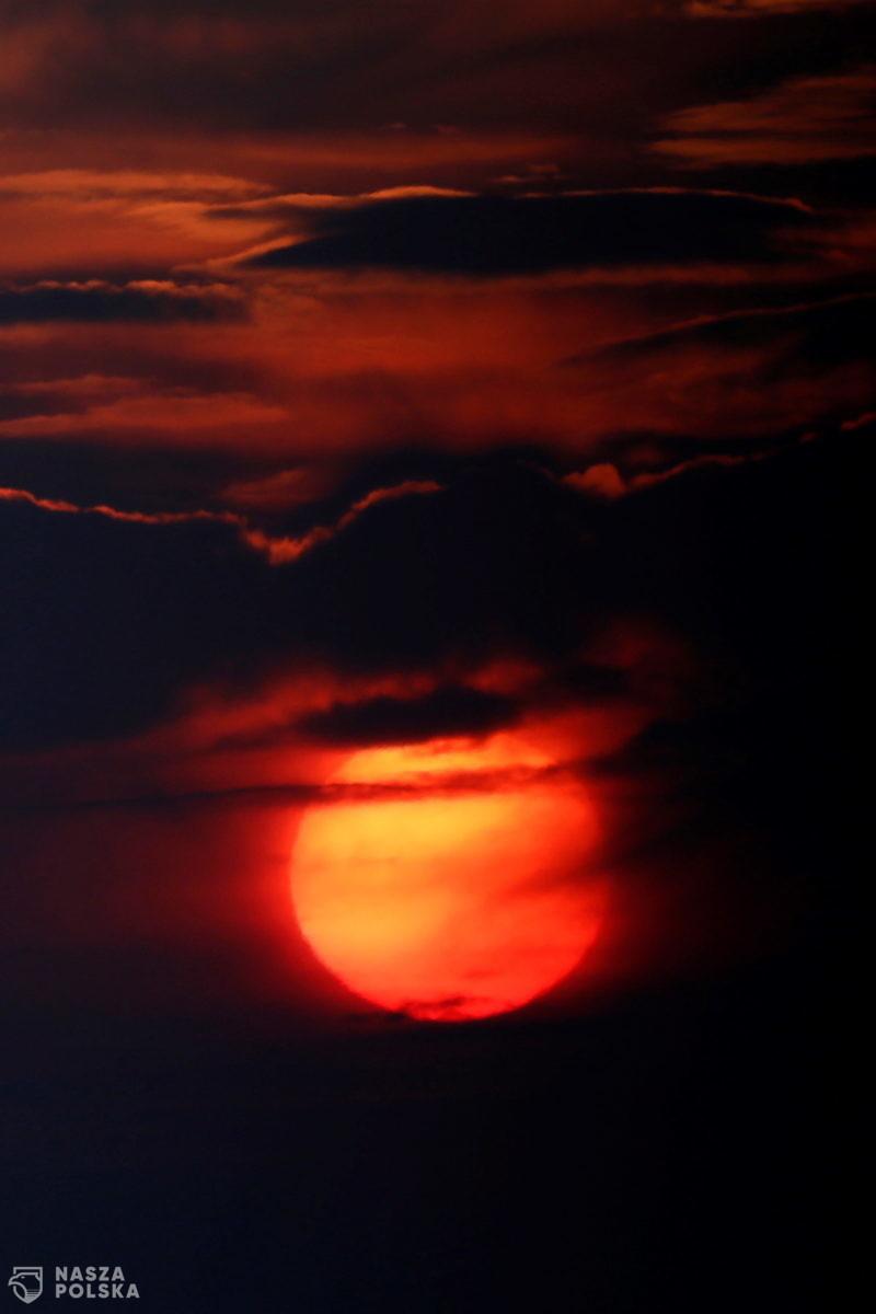 Zachód słońca – Hiszpania