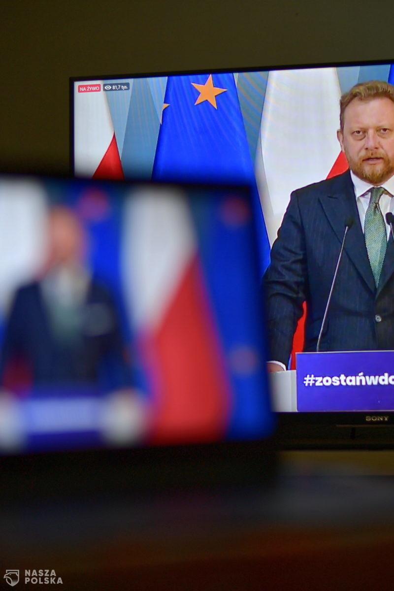 Szumowski: nie naciskał mnie tylko prezydent USA