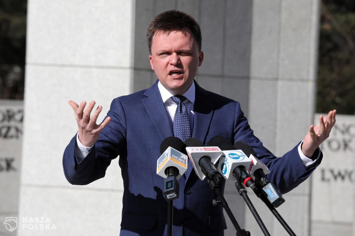 Trzaskowski: Szymon Hołownia miał zmieniać politykę, niestety polityka zmienia Szymona Hołownię