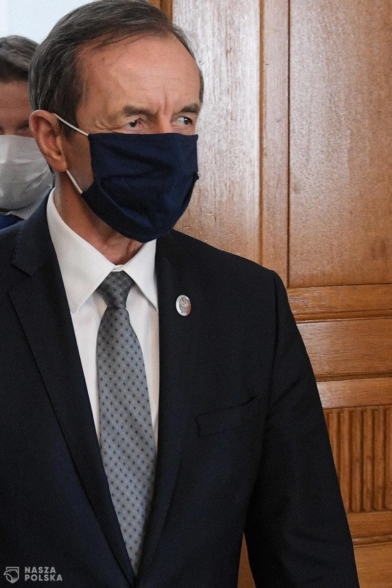 Marszałek Senatu: nazywanie propozycji MZ dot. walki z pandemią strategią – na wyrost