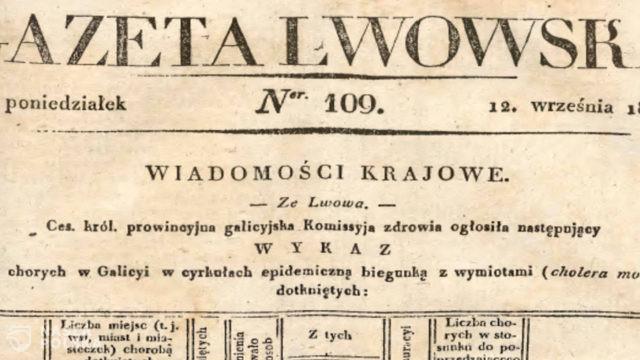Cholera czy kapusta? Wycinki z czasów zarazy 1831 roku