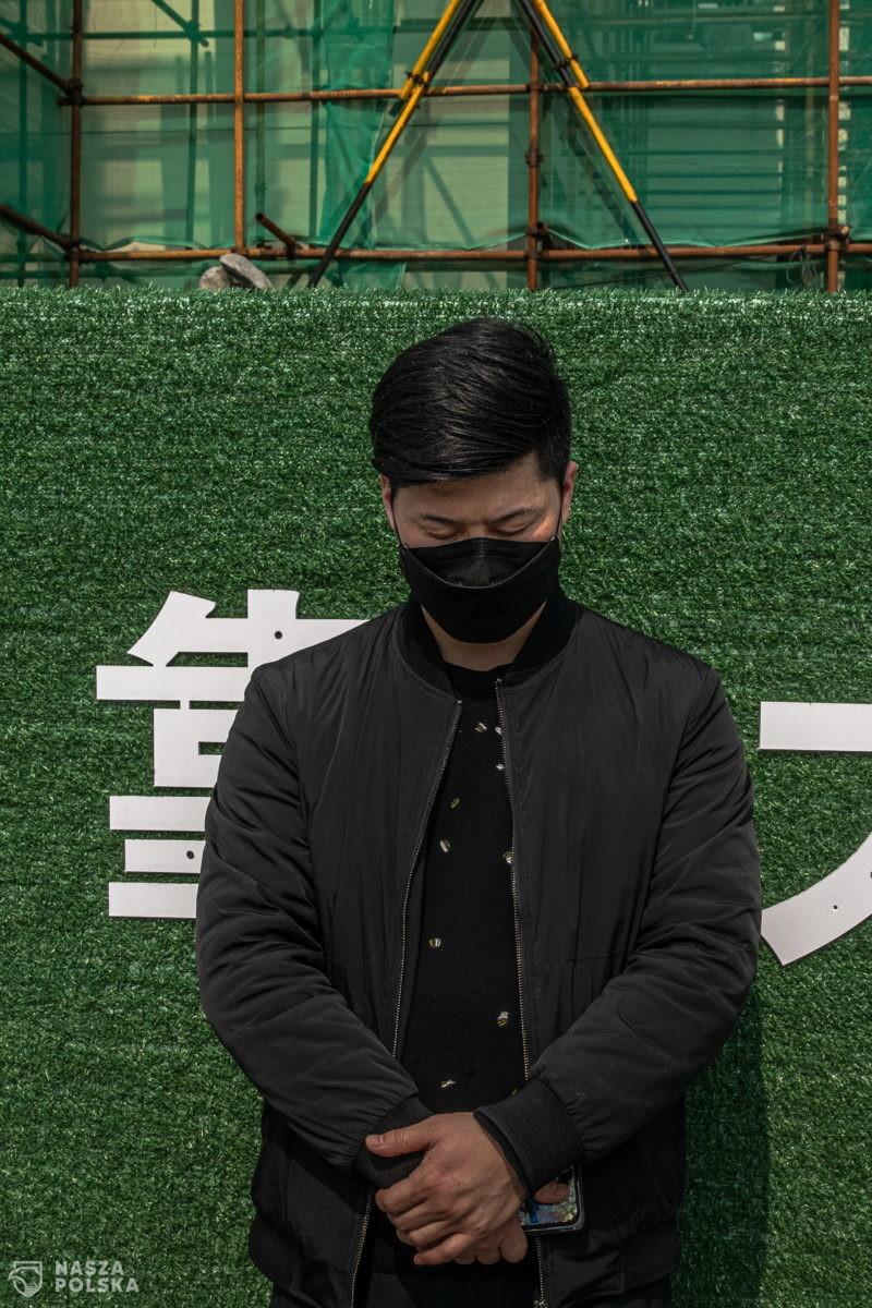 Minuta cisza – Chiny