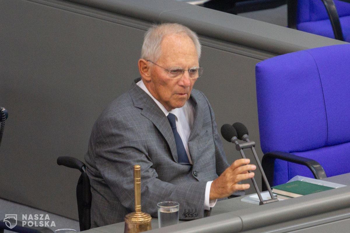 Schäuble: Bez planu Merkel-Macron Europa upadnie