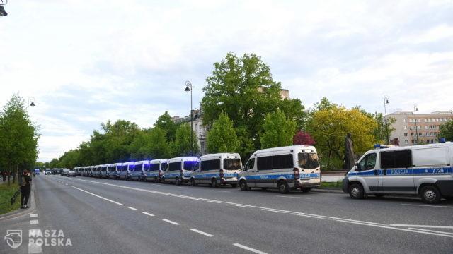 Przed Sejmem zakończył się protest przeciwko brutalności policji