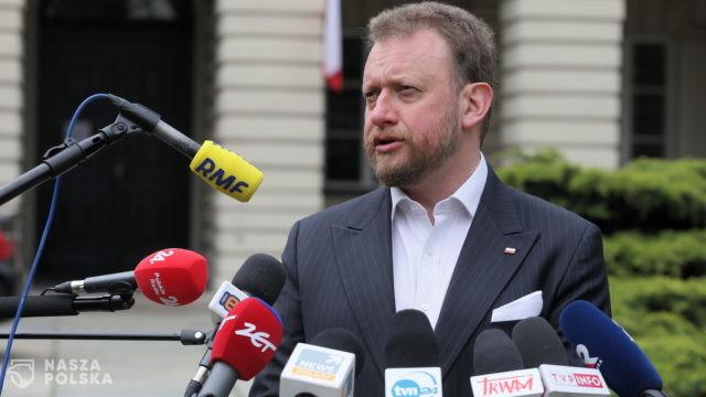 Cieszyński: wtargnięcie posłów KO na konferencję to kulminacja ataku na ministra zdrowia