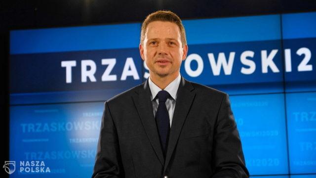 Według CMWP SDP Trzaskowski zastrasza dziennikarzy, naruszając wolność słowa