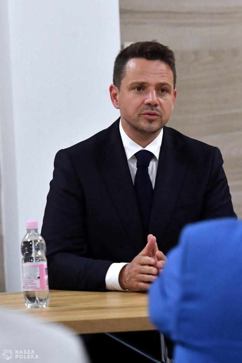 Zieloni za kandydaturą Trzaskowskiego