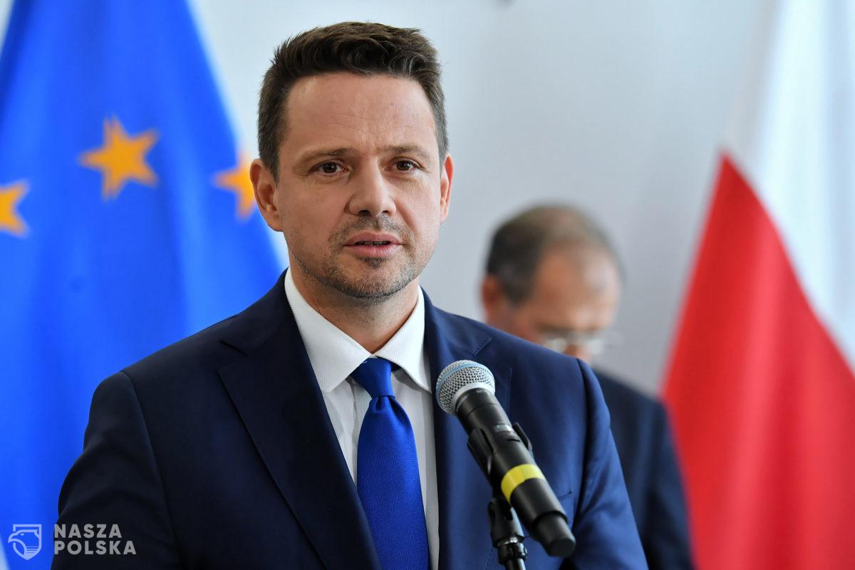 Nielegalne podpisy pod kandydaturą Trzaskowskiego?