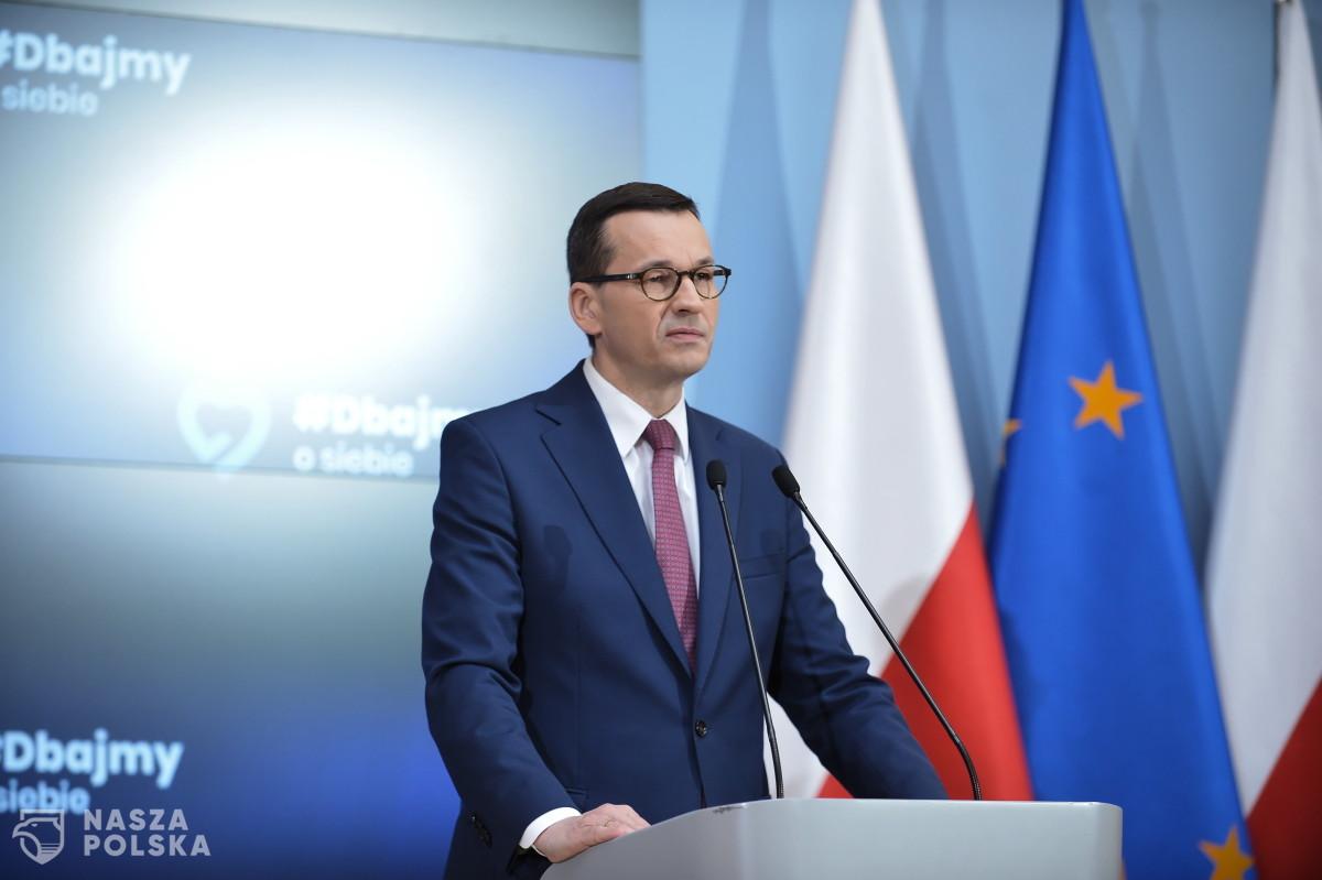 Premier: 40 mld euro dla Polski znakomitym punktem startu do walki o lepszą Europę po koronawirusie