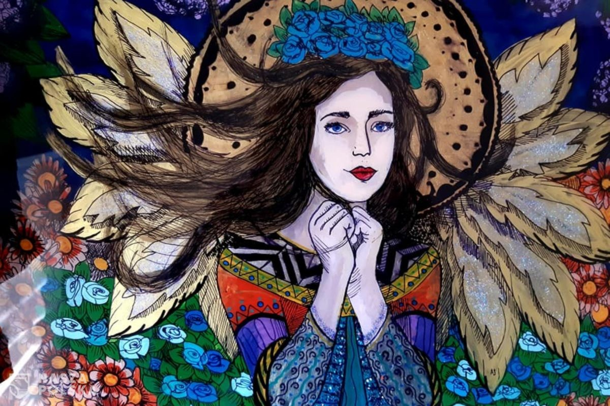 Alicja Sokołowska: w malarstwie na szkle efekt zaskakuje twórcę [WYWIAD]