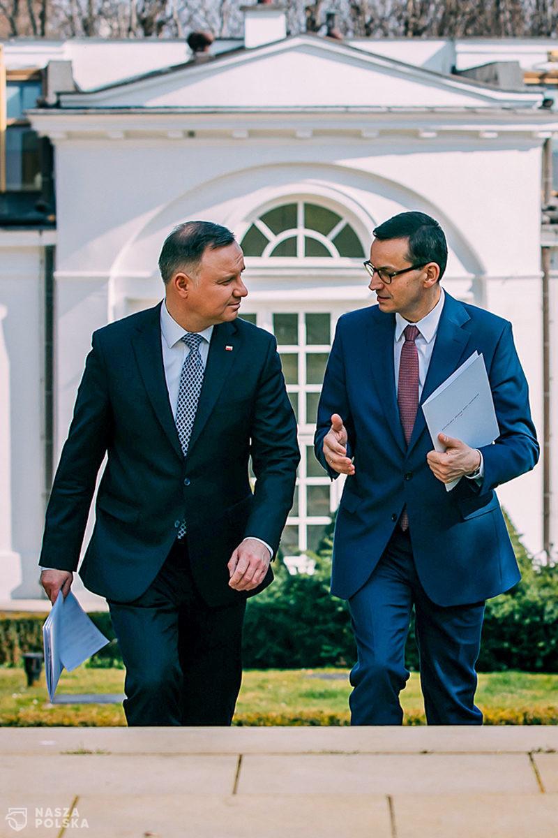 Premier podziękował Andrzejowi Dudzie