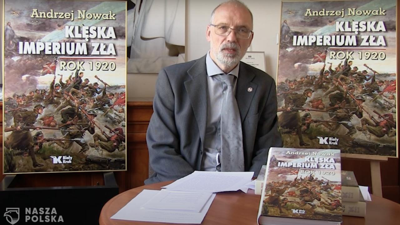 Prof. A. Nowak: w naszych czasach widoczna jest tendencja do traktowania przeszłości jako obciążenia