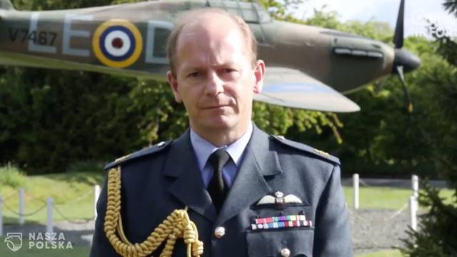 Dowódca RAF oddał hołd polskim lotnikom uczestniczącym w bitwie o Wielką Brytanię