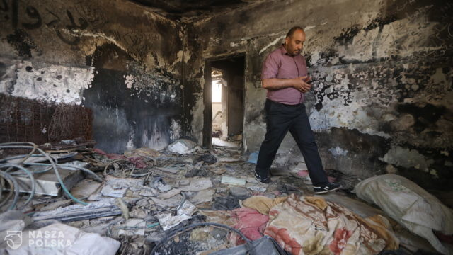 Żydowski ekstremista zamordował rodzinę z malutkim dzieckiem