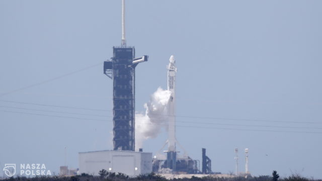 Falcon 9 wystartował