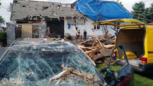 Rzecznik prezydenta: sytuacja we wsi Kaniów opanowana; niebawem wypłata środków klęskowych