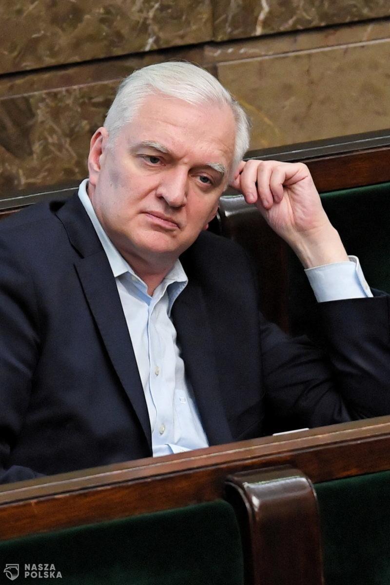 Gowin: projekt nowej ustawy antycovidowej jeszcze we wtorek w Sejmie