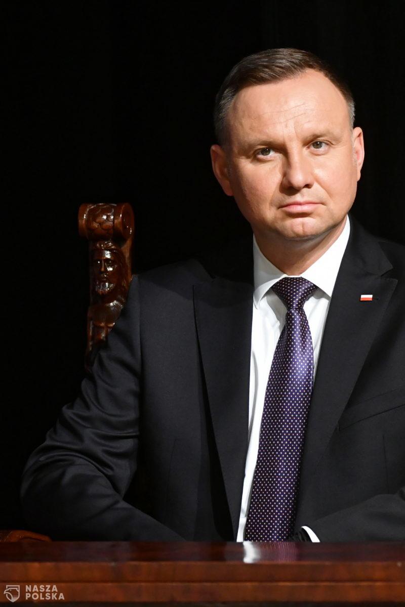 Duda złożył deklarację pomocy prezydentowi Libanu