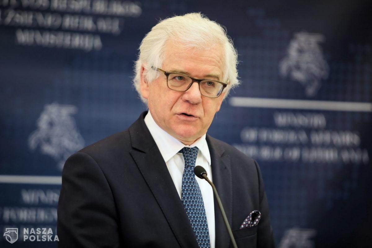 Czaputowicz: unijna odpowiedź na kryzys musi opierać się na ambitnym budżecie