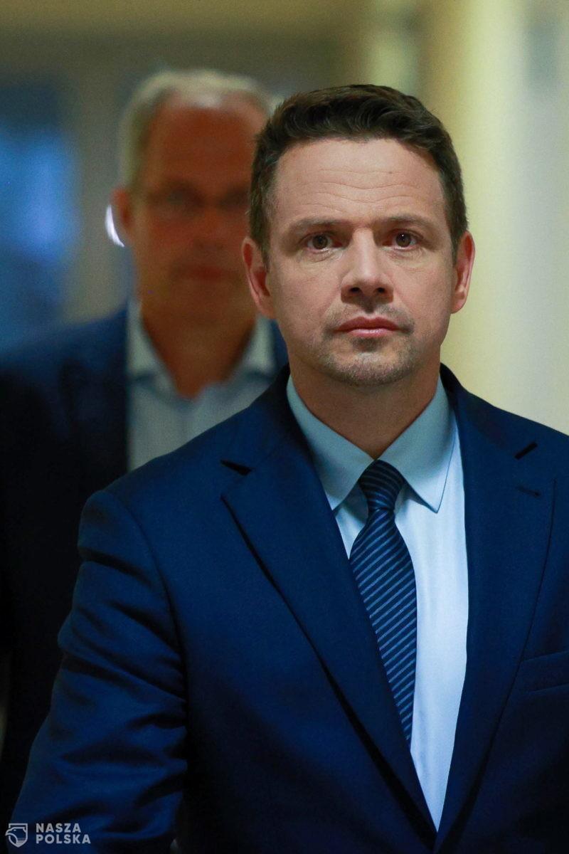 Trzaskowski zmienił zdanie w sprawie Nord Stream 2