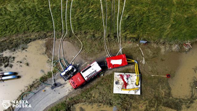 Z powodu ulew ponad 1,1 tys. interwencji strażaków na Podkarpaciu w ciągu doby