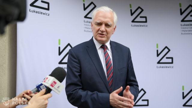 Gowin: przemysł jest siłą polskiej gospodarki