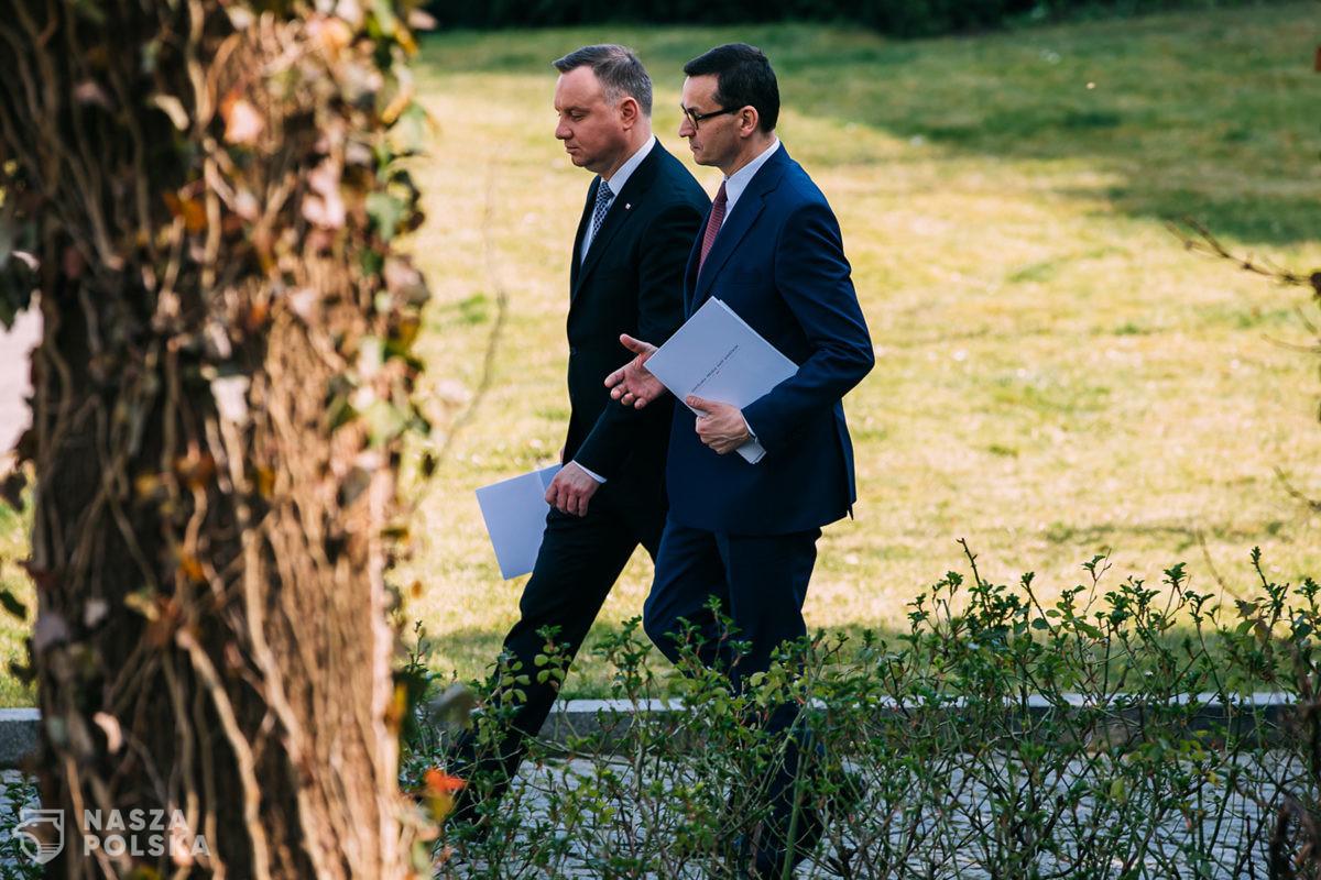 Morawiecki: prezydent Duda jest najlepszym ambasadorem polskich interesów w świecie