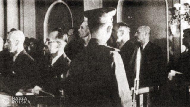 75 lat temu wydano wyroki w procesie przywódców Polskiego Państwa Podziemnego