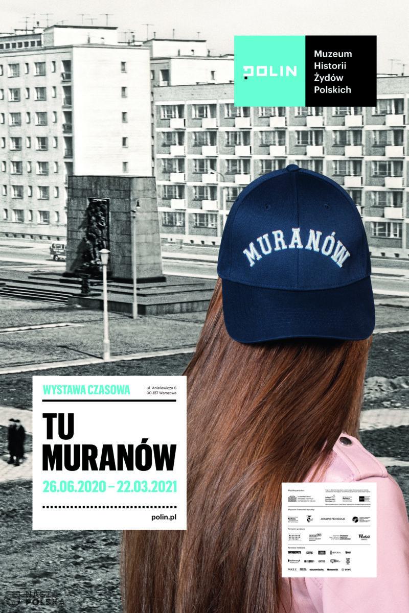"""[GALERIA] """"Tu Muranów"""" – nowa wystawa w Muzeum POLIN"""