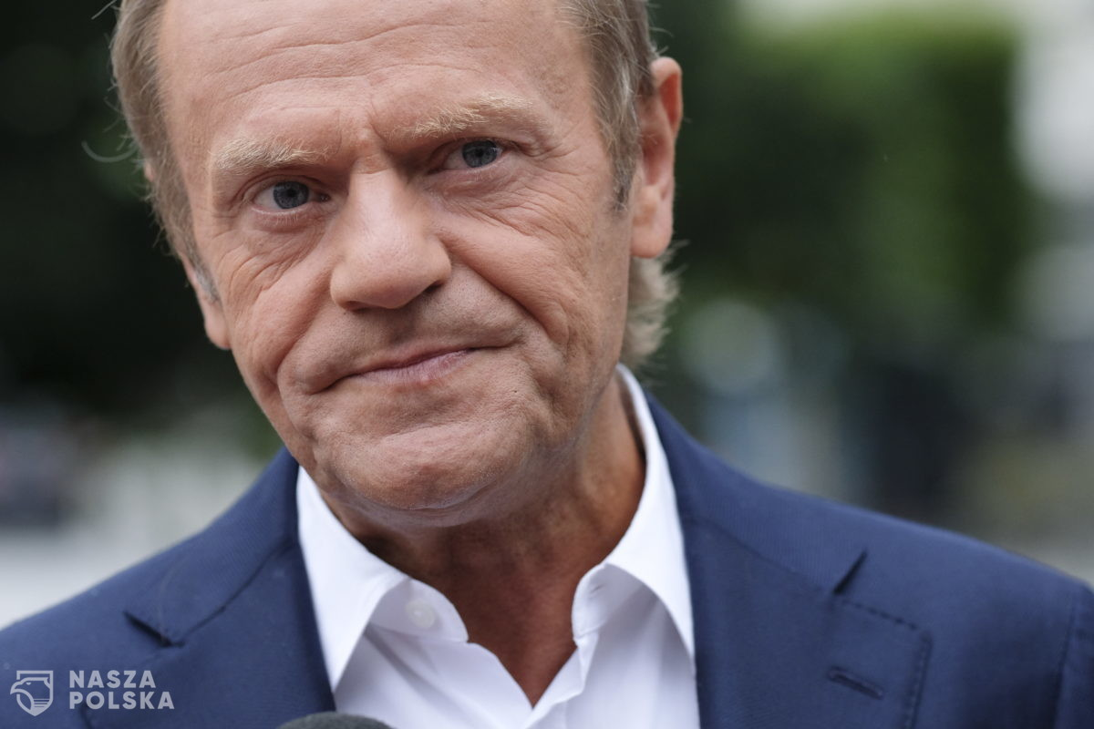 Donald Tusk nie chce, ale musi