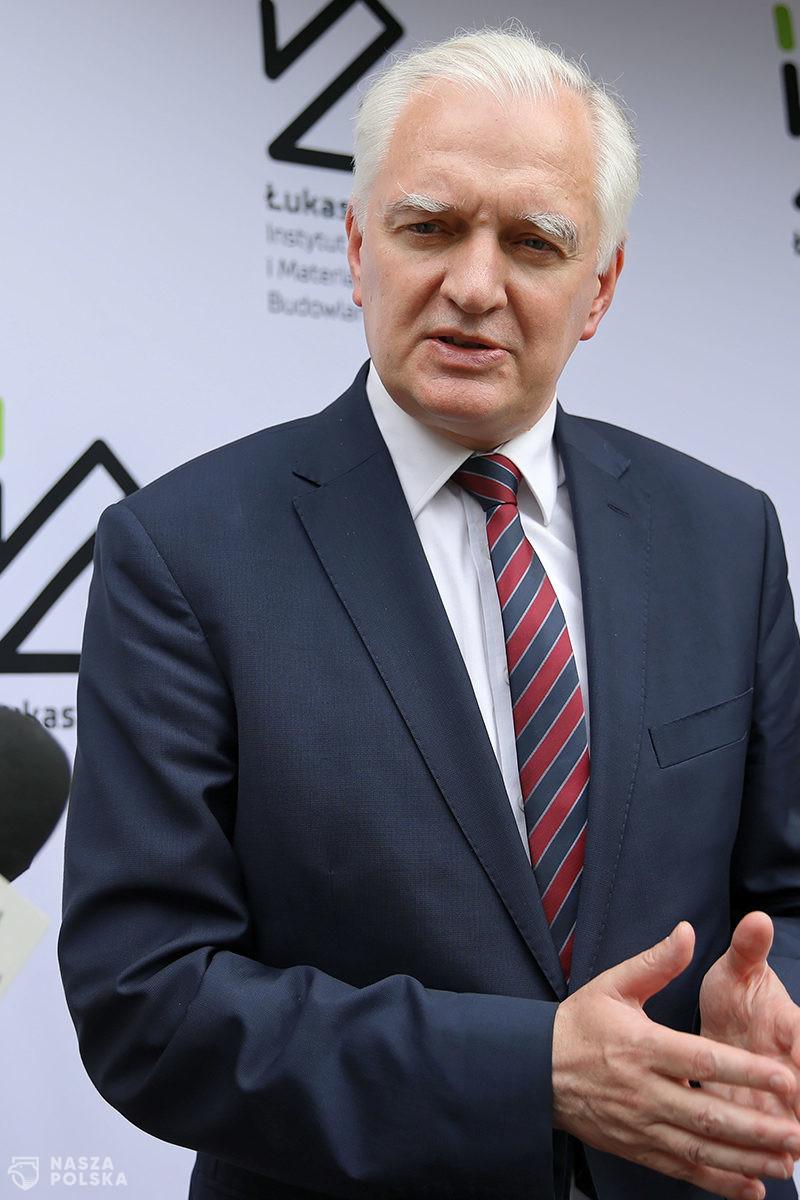 Gowin: odporność polskiej gospodarki na kryzys większa, niż wielu sądziło