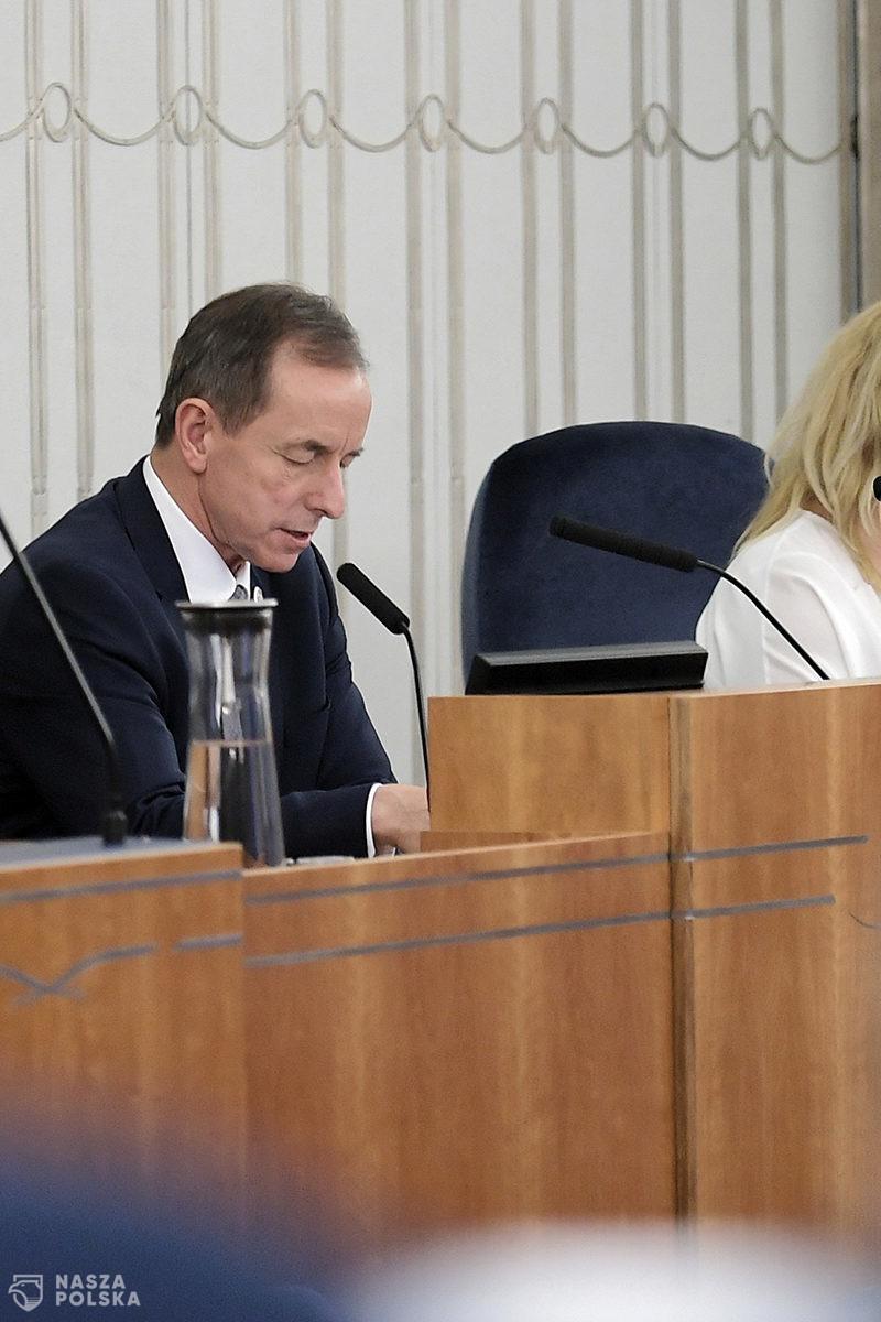 Marszałek Senatu: głosowanie ws. noweli ustaw COVID-owych jeszcze w poniedziałek