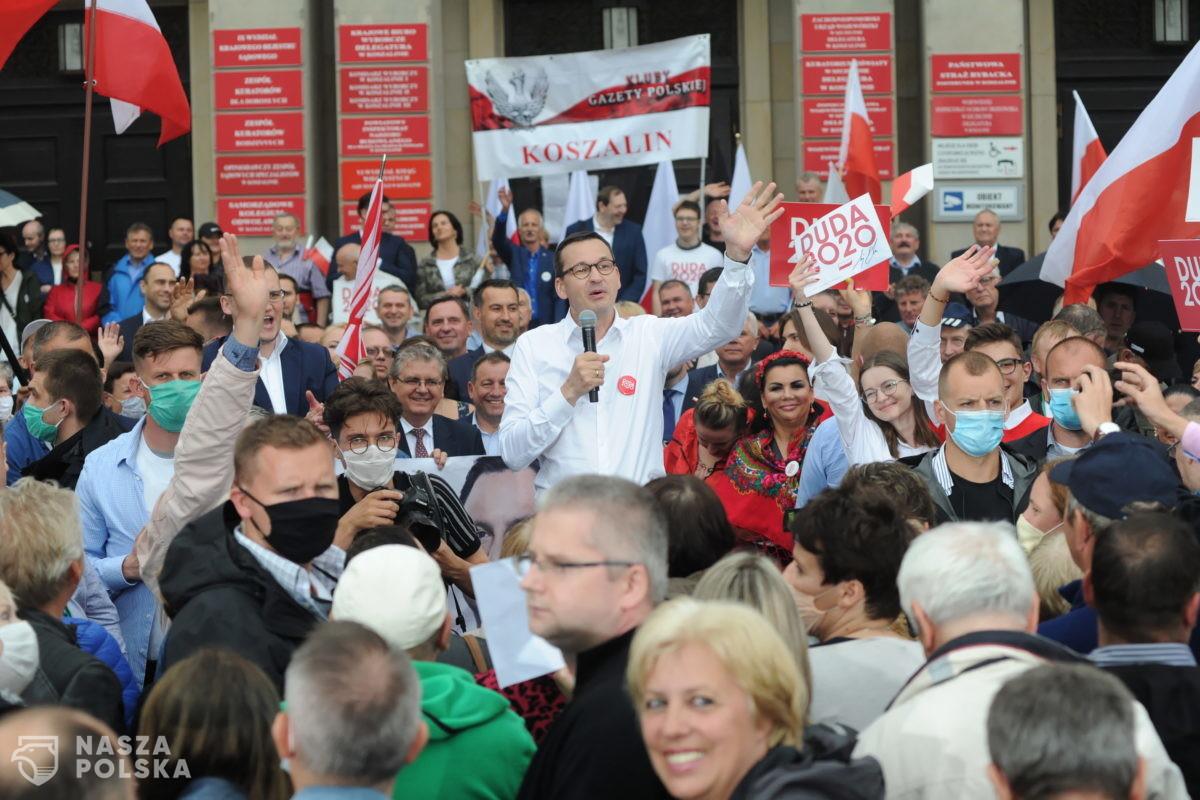 Morawiecki: Trzaskowski ma pewne poglądy, ale sam się z nimi nie zgadza