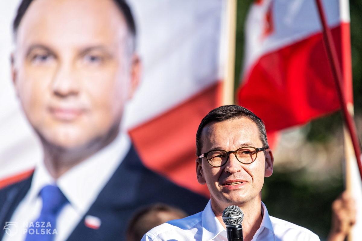 Premier: Rafał Trzaskowski to taki Pinokio, któremu rośnie coraz dłuższy nos