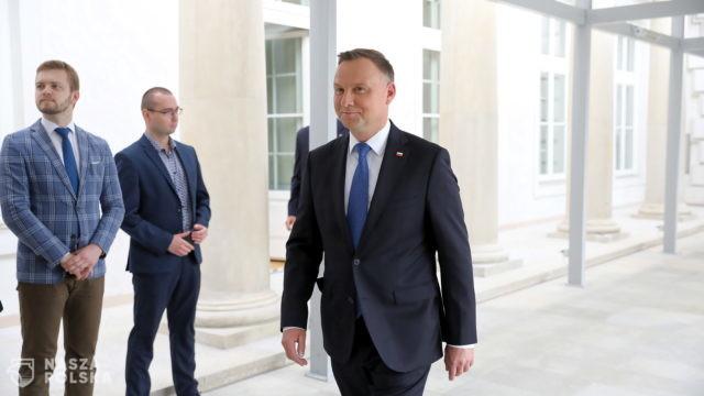Prezydent: Polskie państwo stoi murem za rolnikiem