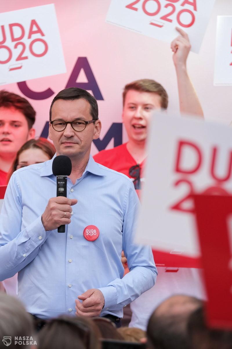 Premier do niezdecydowanych wyborców: trzeba zadać sobie pytanie, jak Polska będzie wyglądała za 5 lat