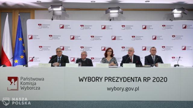 Konferencja PKW w poniedziałek o godz. 8