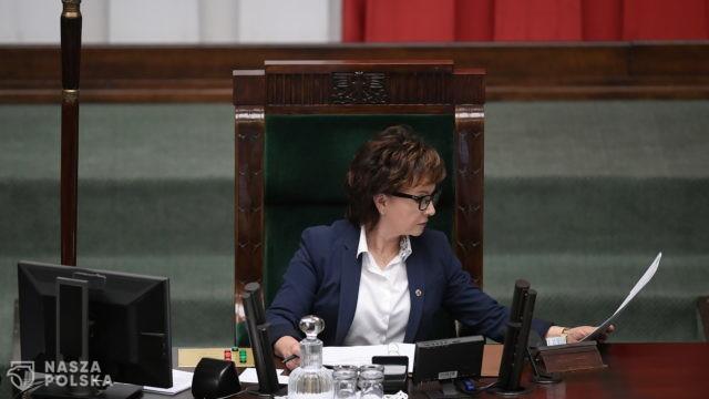 Z czego śmiała się marszałek Witek podczas posiedzenia Sejmu?