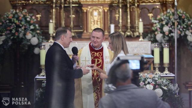 Ślub Jacka Kurskiego pod ostrzałem