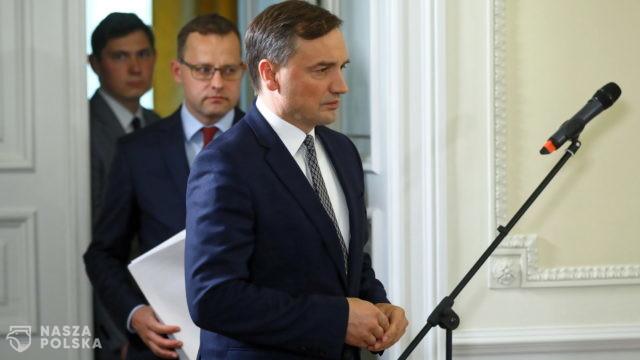 Ziobro: UE proponuje rozwiązania, które ubezwłasnowolnią polskie państwo