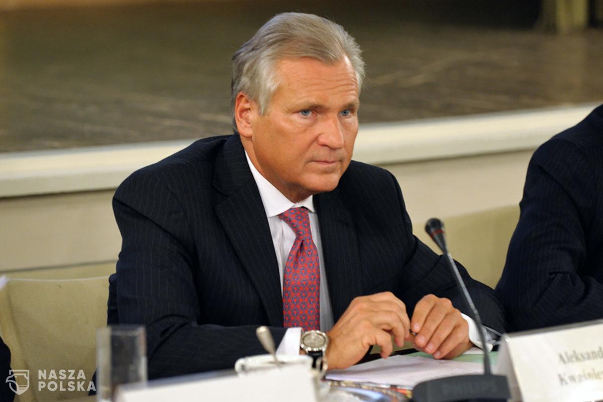 Kwaśniewski: jeżeli Tusk chce wrócić do polskiej polityki, to musi wrócić w pozycji lidera partii