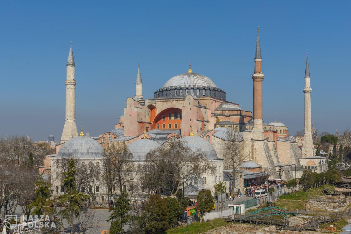 Papież powiedział, że jest bardzo zasmucony decyzją w sprawie Hagii Sophii w Stambule