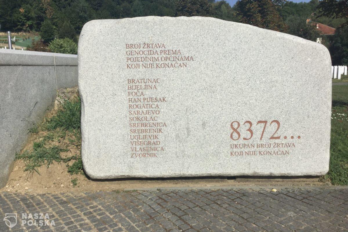 Rocznica ludobójstwa w Bośni, śladem Pomorza i Wołynia