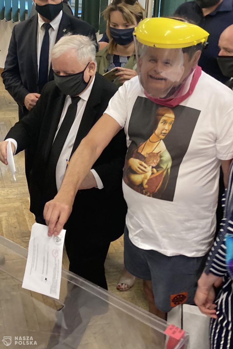 Nieudana prowokacja w komisji wyborczej na Żoliborzu