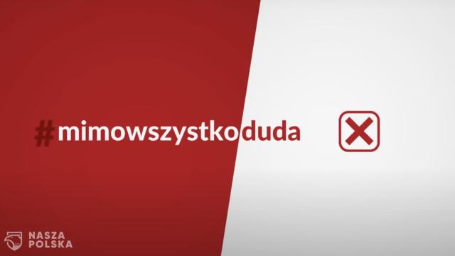 Rzecznik Marszu Niepodległości: spot #MimoWszystkoDuda  to wyraz odrzucenia kandydatury Trzaskowskiego