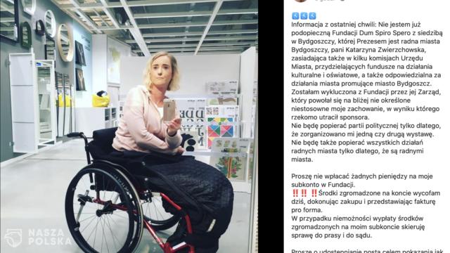[AKTUALIZACJA] Niepełnosprawna kobieta wykluczona z fundacji za wyrażenie poparcia dla Andrzeja Dudy
