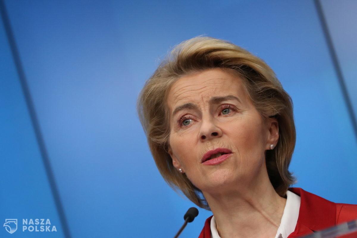 Von der Leyen napisała do premiera ws. mechanizmu praworządności