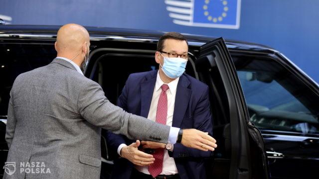 Nieoficjalnie: na szczycie UE premier Morawiecki uczestniczy w spotkaniu koordynacyjnym V4